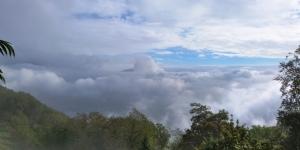 La nebbia sottostante