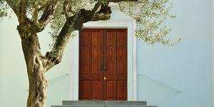 katia ponzetto portale della chiesa di milanere almese